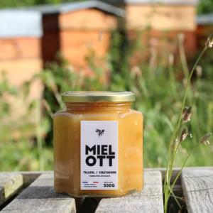 Miel Ott - Tilleul Châtaigne - 500 Gr